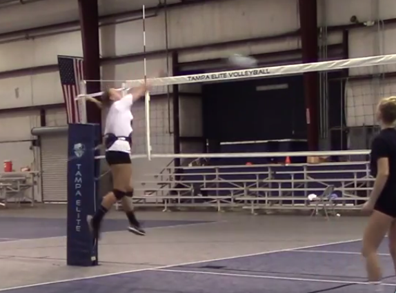 Vertimax Volleyball Drills With The Raptor Resisted Spike Volleyball Training Volleyball Drills Volleyball