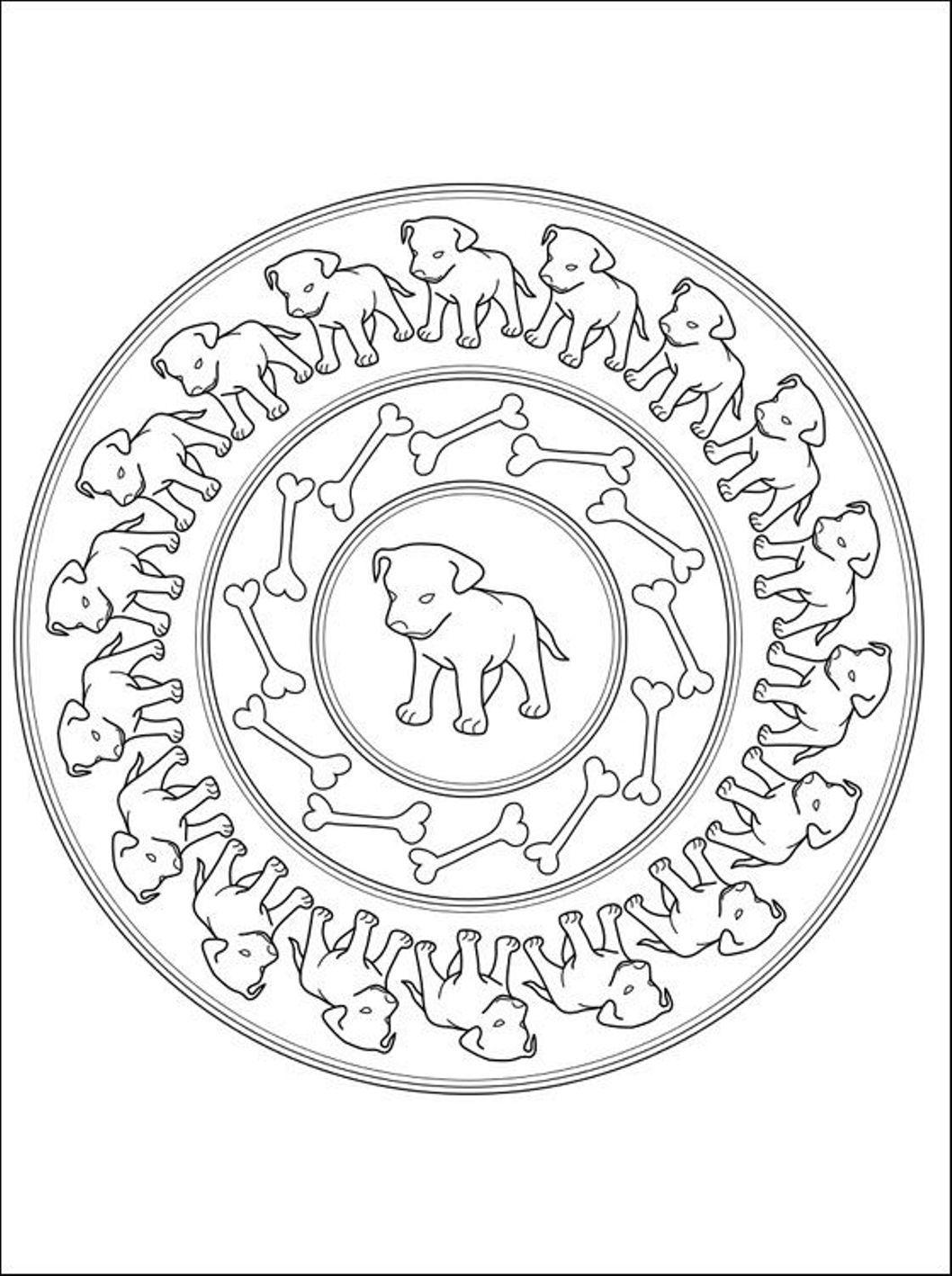 Uncategorized Mandala Coloring Pages For S Free mandala coloring pages for s murderthestout puppies kids