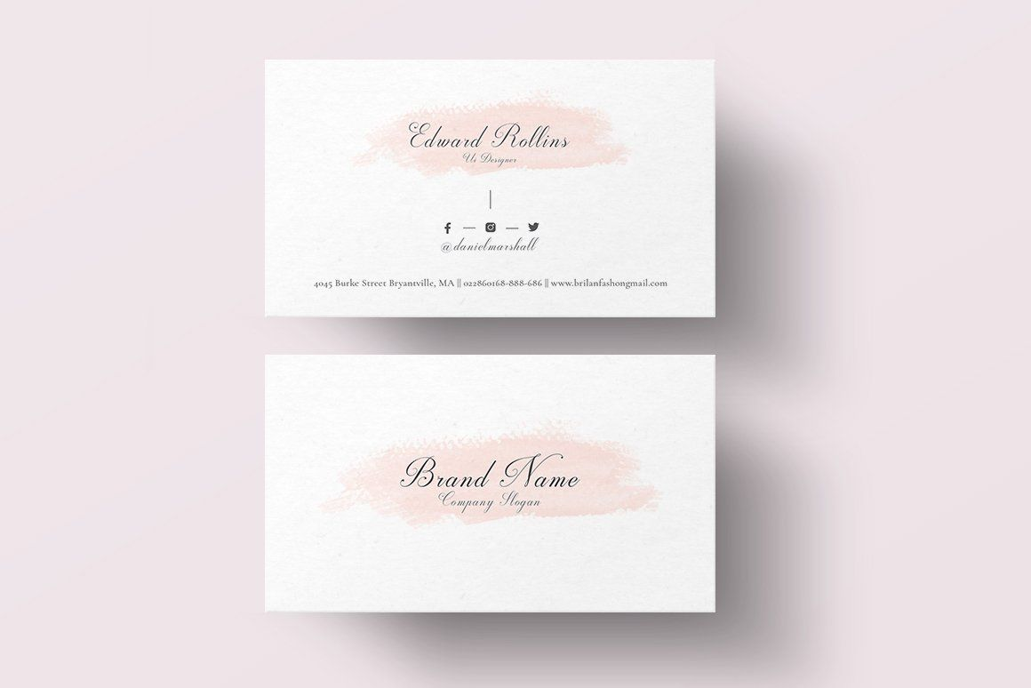 Business Card By Creativezoom On Simple Professional Business Card Goes For The Simplicity Look Cool Business Cards Business Card Template Card Templates