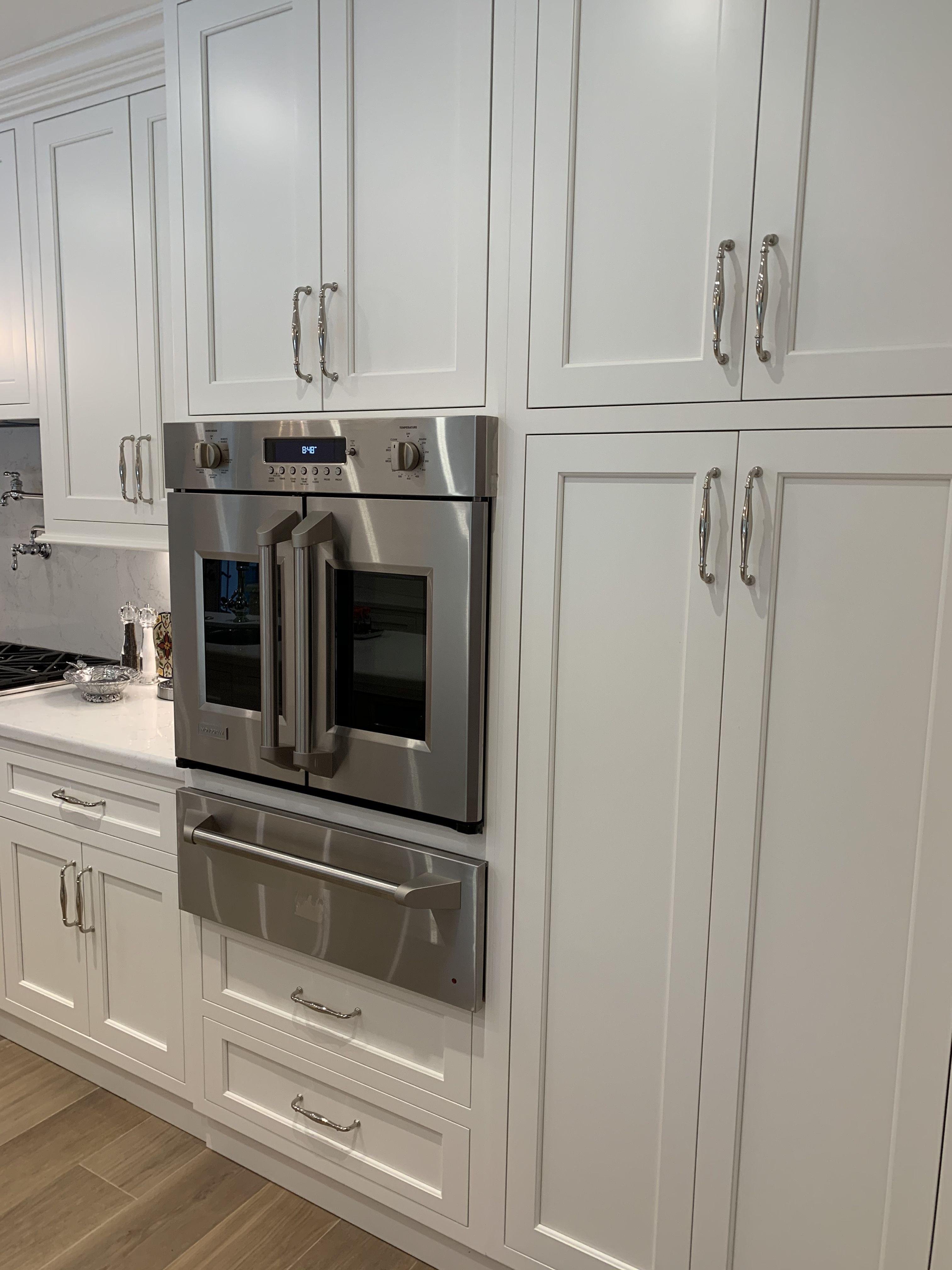 This Beautiful White Kitchen Has All Ge Monogram Appliances