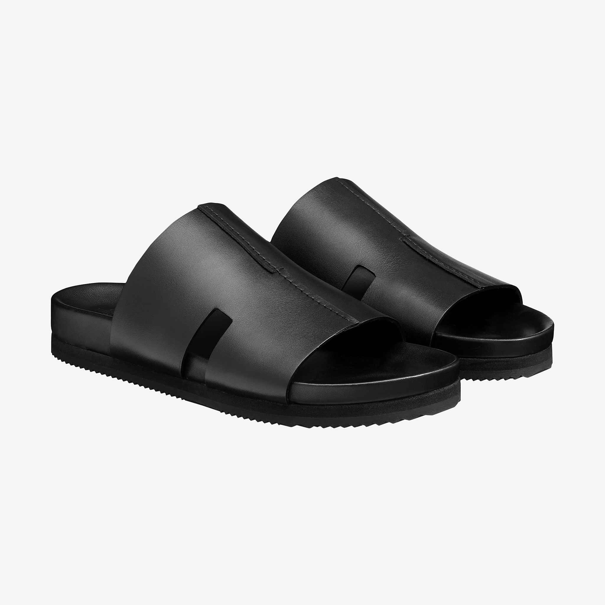 Hermes The Official Hermes Online Store Mens Leather Sandals