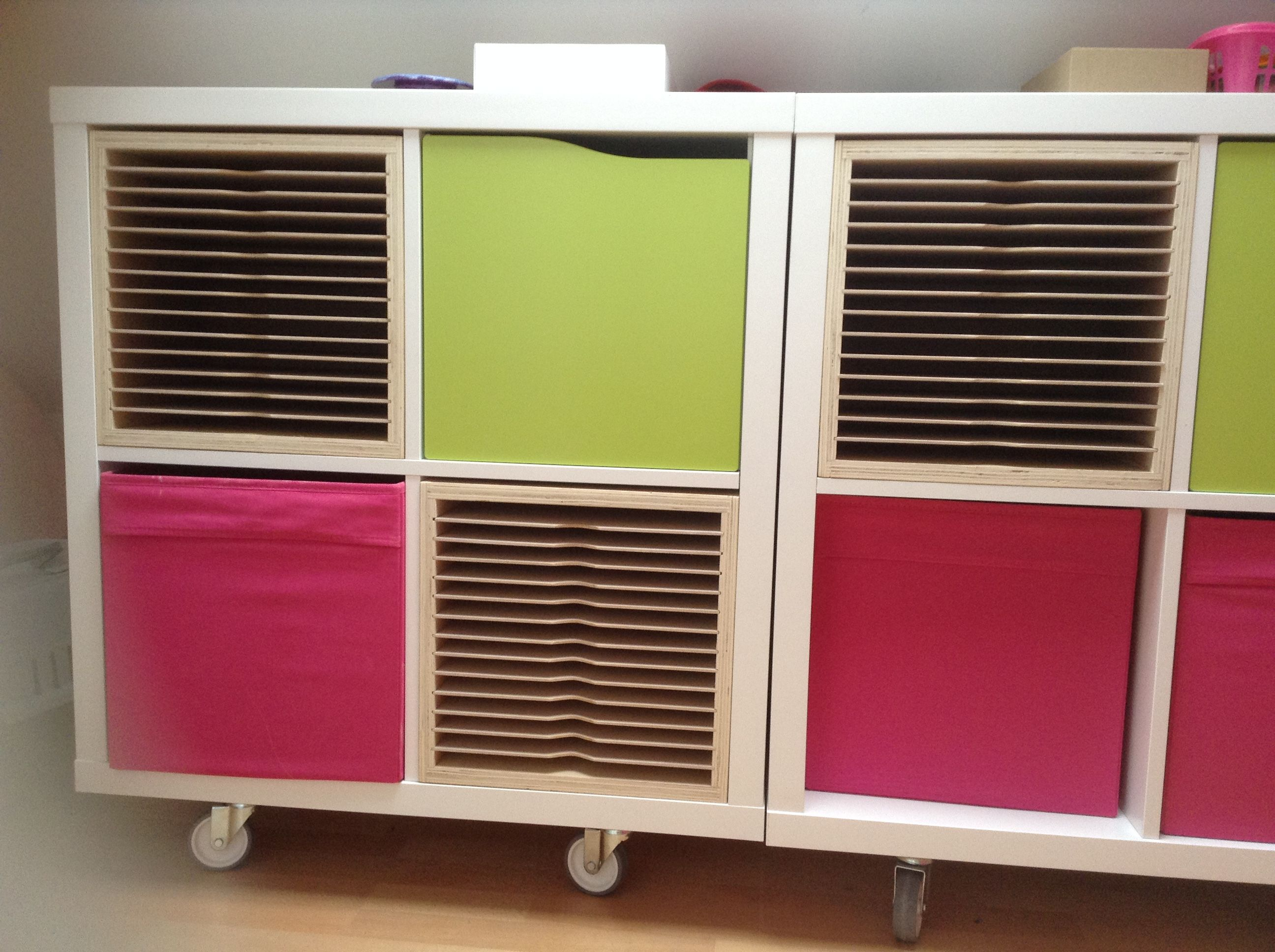 My New A4 Paper Storage For Ikea Kalax Furniture. Check Me Out On Ebay And
