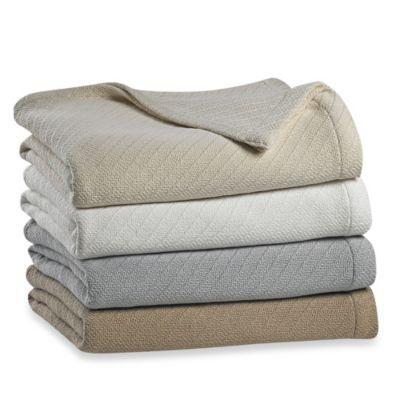 Wamsutta® Classic Cotton Blanket - BedBathandBeyond.com  cfe9eb8b0