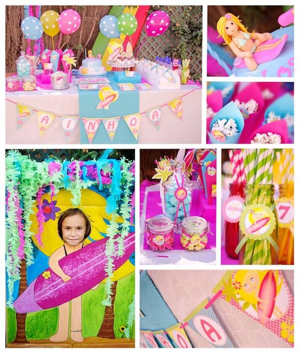 Una Fiesta Surf Surfer Party Pool Party Themes Party Themes