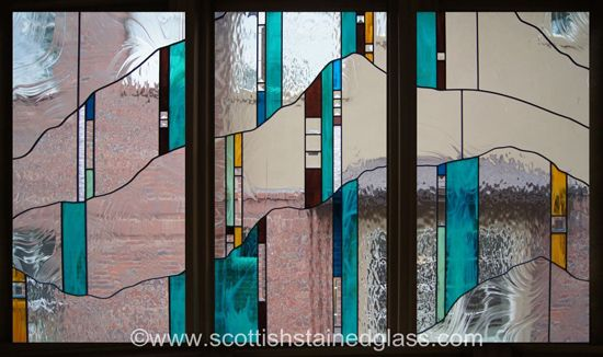 Beautiful Prairie Style Stained Glass Window Stained Glass