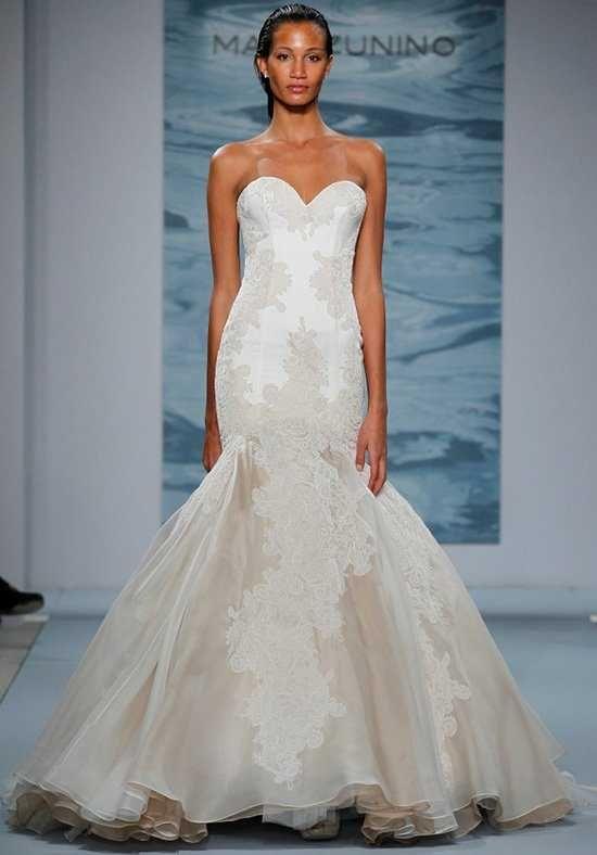 Mark Zunino for Kleinfeld 124 Mermaid Wedding Dress | Wedding ...