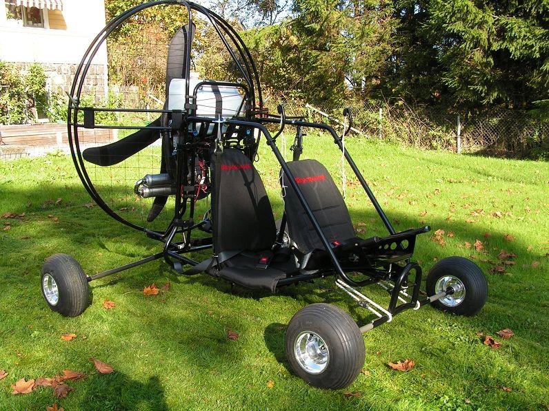 LowBoy Quad Tandem Paramotor   DJI Phantom Vision   Powered