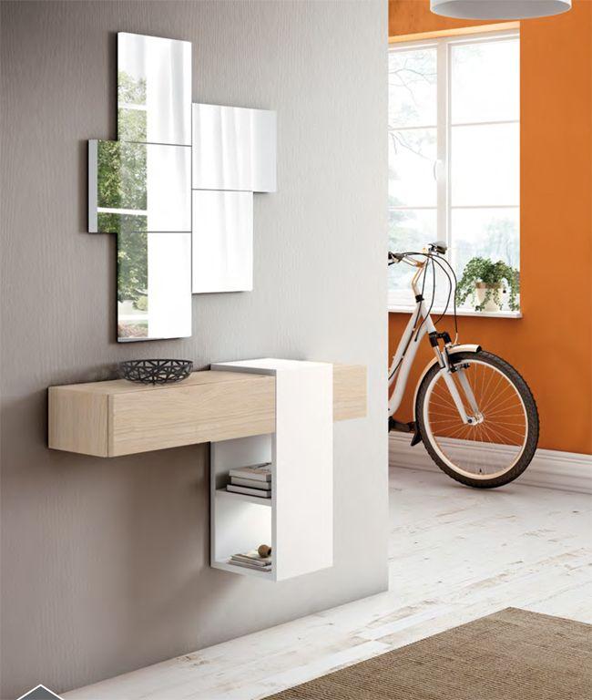 Recibidor de estilo moderno recibidor bonito recibidor for Decorar casa con muebles wengue
