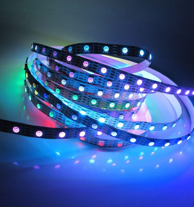 Dc12v ws2815 5050 smd rgb 300leds 60ledm led strip lights with low dc12v ws2815 5050 smd rgb 300leds 60ledm led strip lights with low price and mozeypictures Choice Image