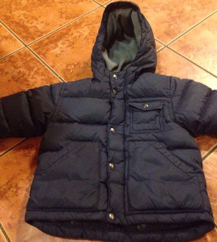 e33399524735 Baby Gap Boys Down Navy Ski Jacket Warmest Blue Size 18-24 Months ...