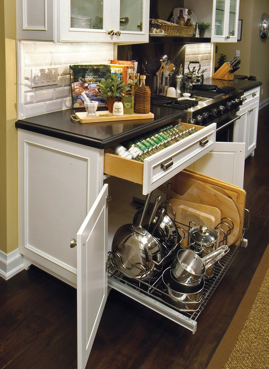 this kitchen cabinet is an organizational superstar plenty of rh pinterest co uk Pull Out Spice Cabinet for Spice Storage Ideas Cabinet Door Spice Rack