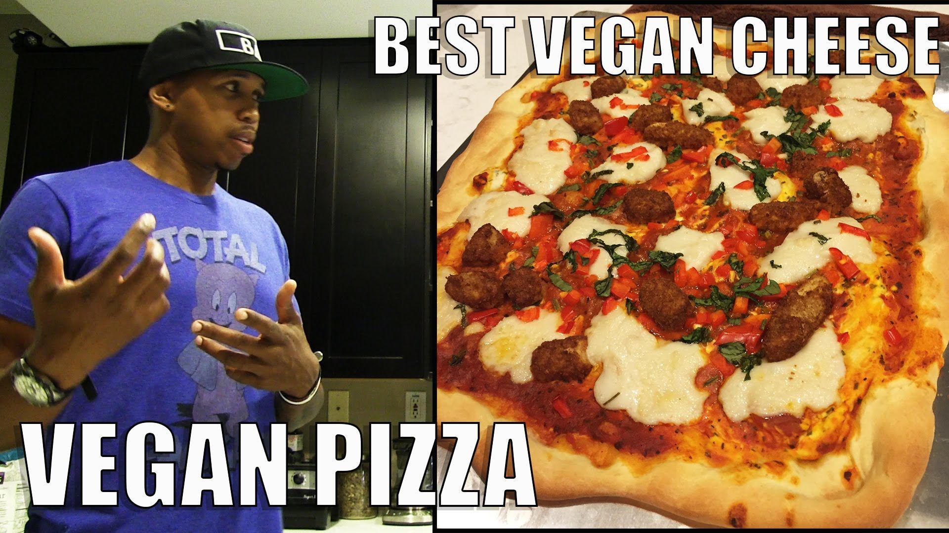 Vegan PIZZA with BADASSVEGAN
