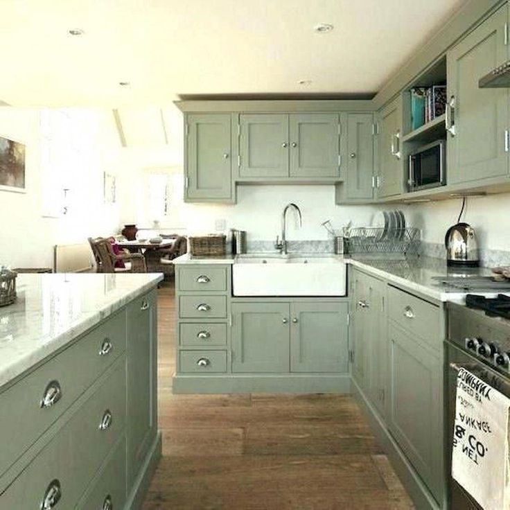 Distressed Kitchen Cabinets teal kitchen cabinets # ...