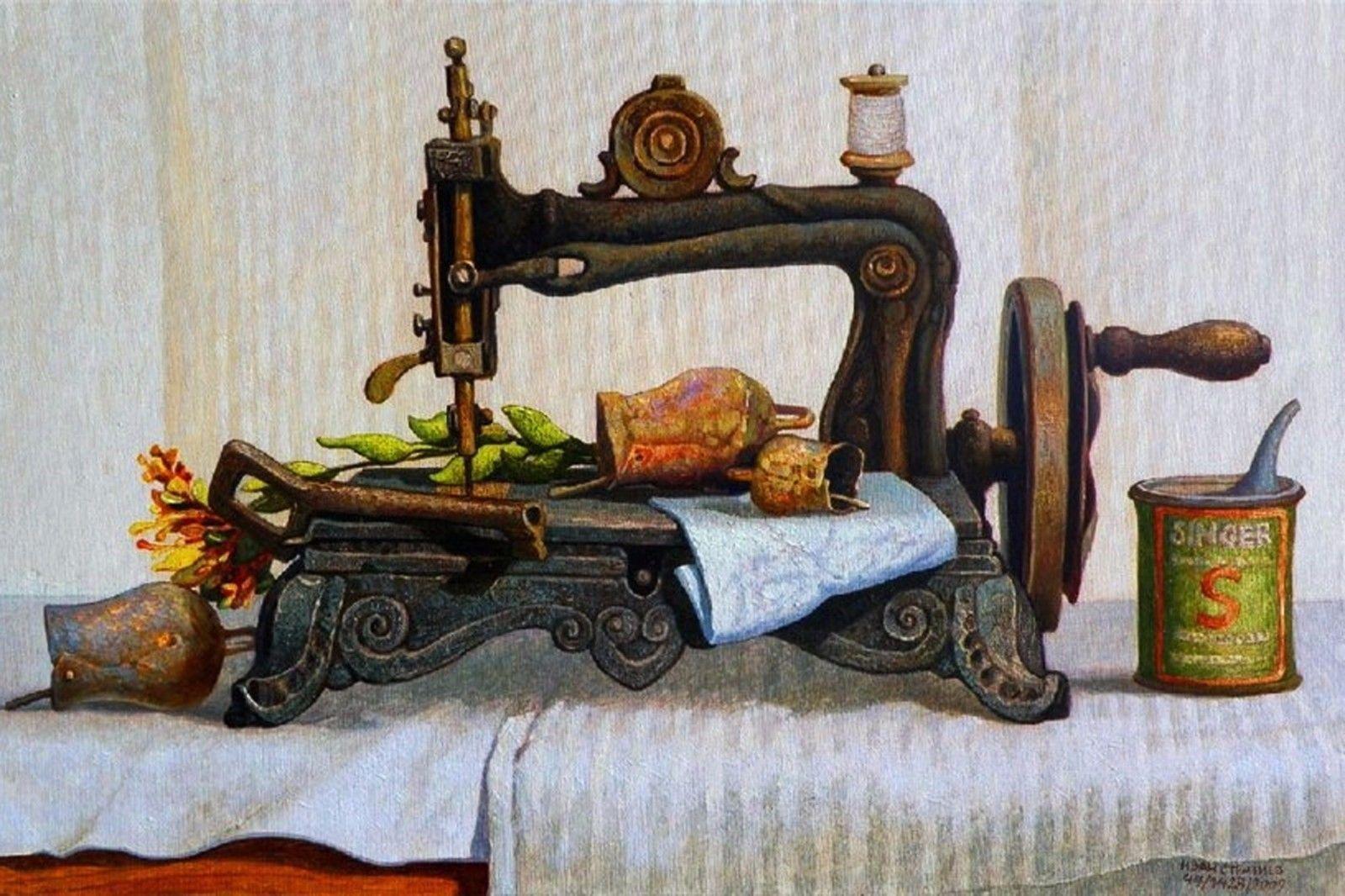 интересные картинки швейной машинки для декупажа фойе