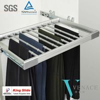 Closet Accessories Pull Out Pants Rack