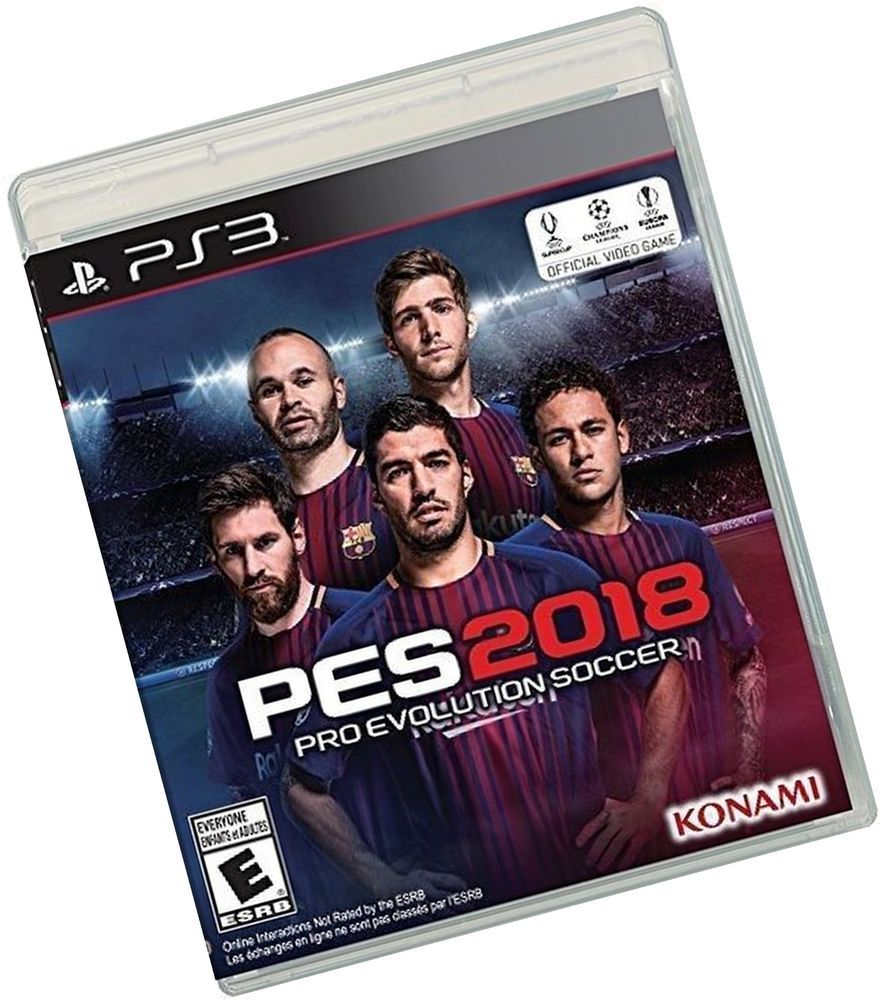 Pro Evolution Soccer 2018 - PlayStation 3 Disc Standard #ps4
