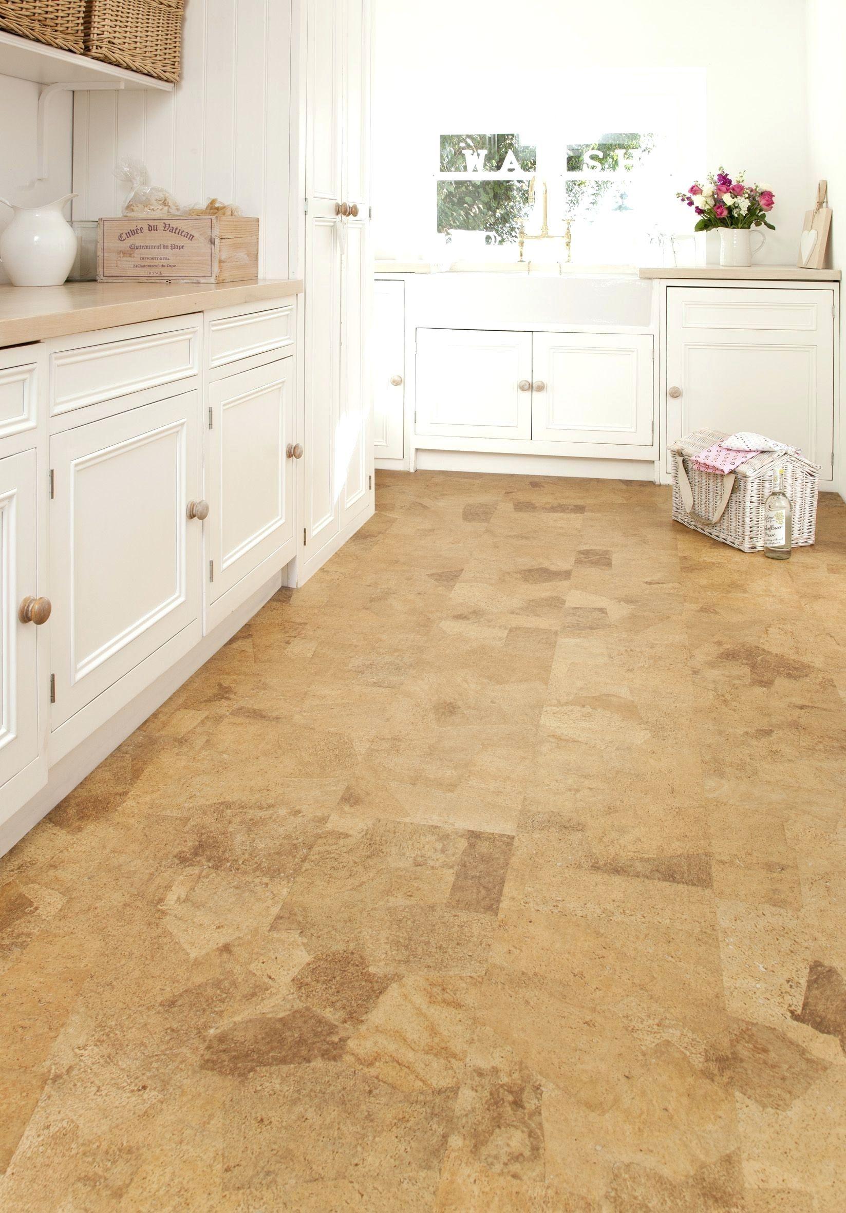 Cork Floor Tiles Homebase   Cork flooring kitchen, Modern kitchen ...