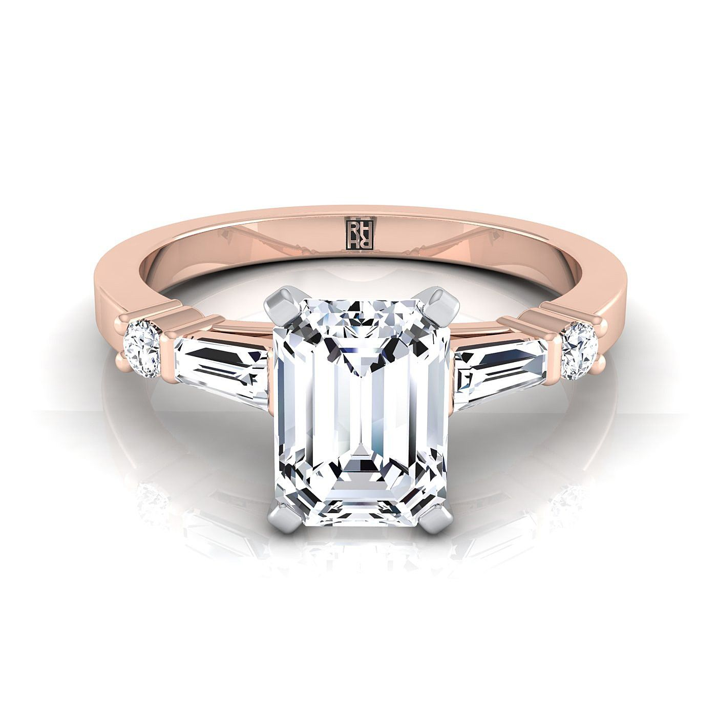 Pin On Emerald Cut Engagement Rings