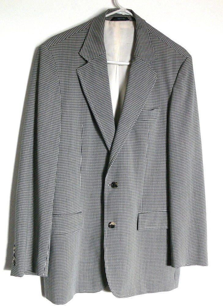 c03610c6a94 HUGO BOSS Sports Jacket Wool Blazer Coat Saks Fifth Avenue Bodega MENS 40R # HugoBoss #TwoButton