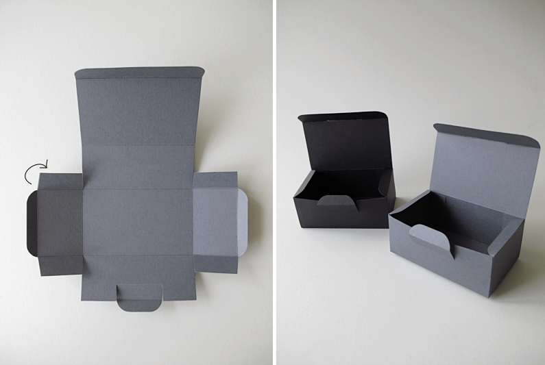 D.I.Y.   Cardboard box   Design and Form