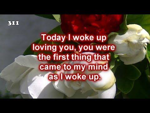 5cec778b5890 Woke up loving you ❤ Video of Love ❤ Romantic music ❤ Poem - YouTube