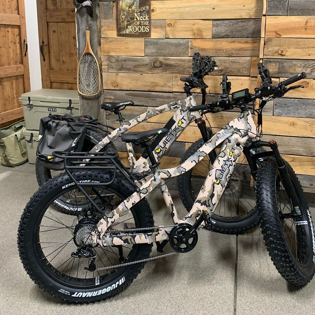 Quietkat Ranger Electric Bike For Women In 2020 Deer Hunting Tips Electric Bike Ranger