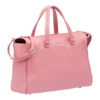 MiuMiu Official Store - TOP HANDLE | #bag #pink #BEBrand