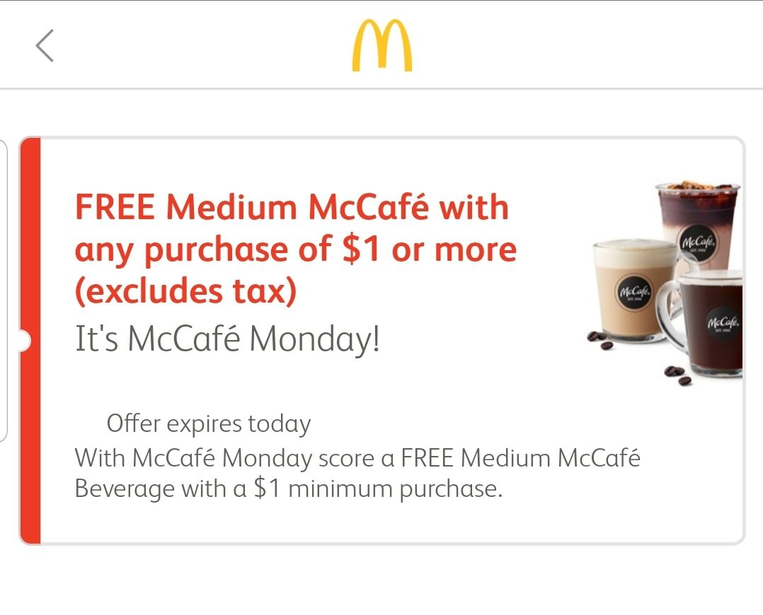 Free Coffee, Shakes And Smoothies At McDonald's! McCafe