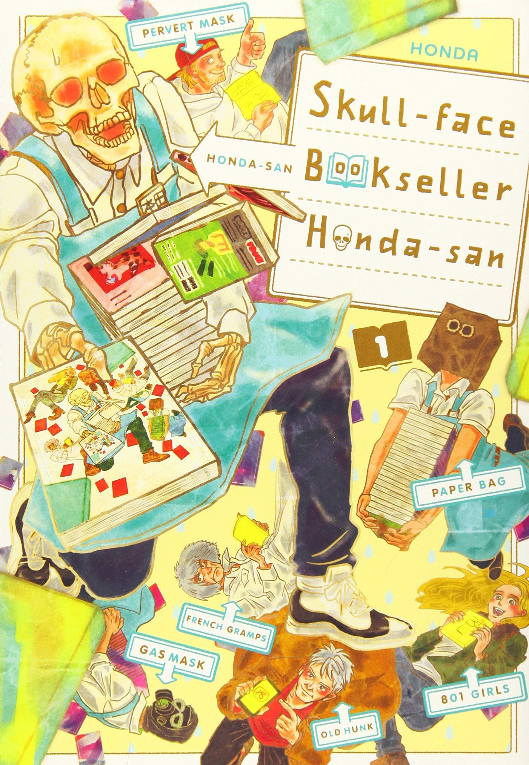 Skull Face Bookseller Honda San Vol 1 Skull Face Honda Ghost