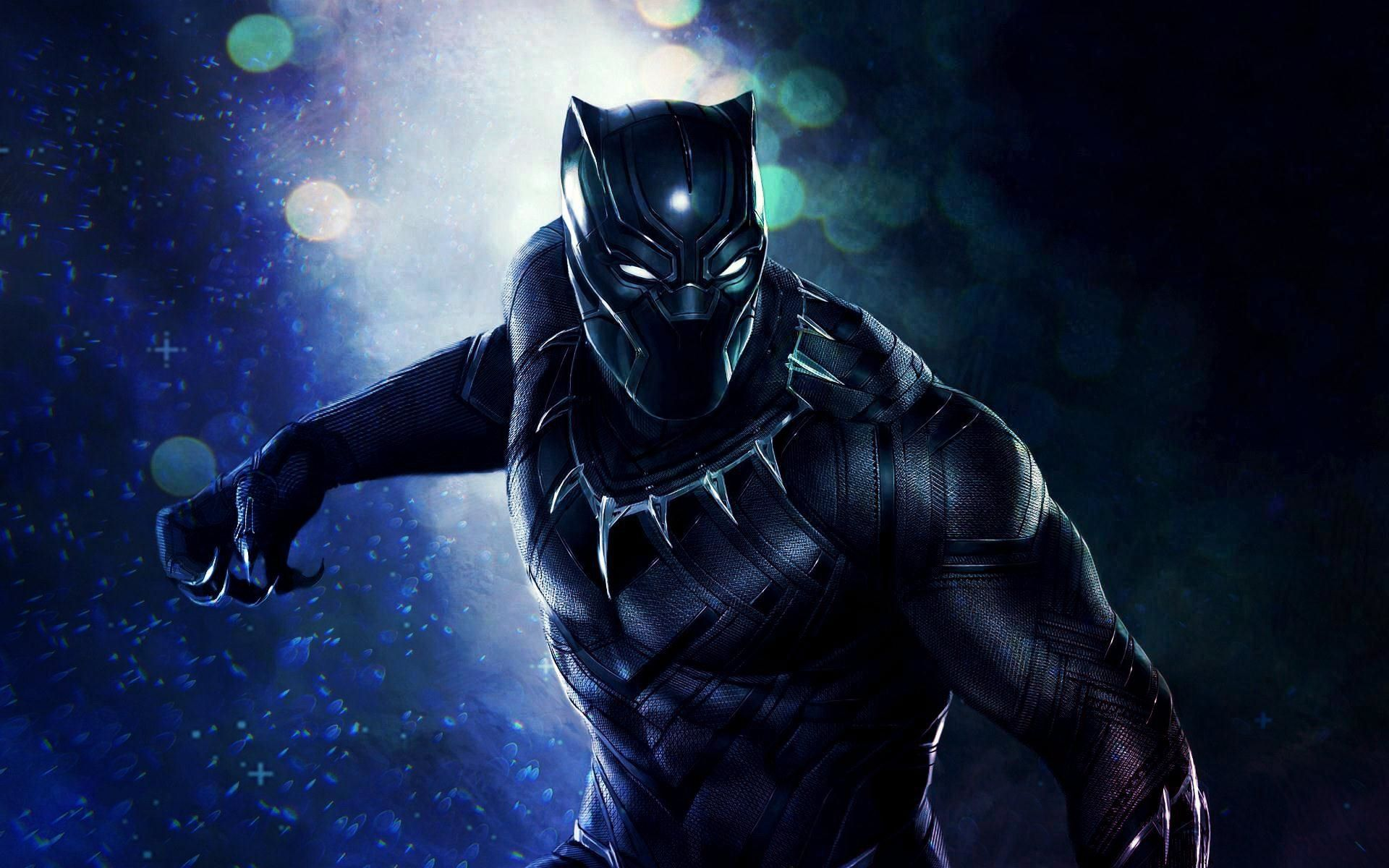 Movie Wallpaper Marvel Black Panther Wallpaper 1080p HD