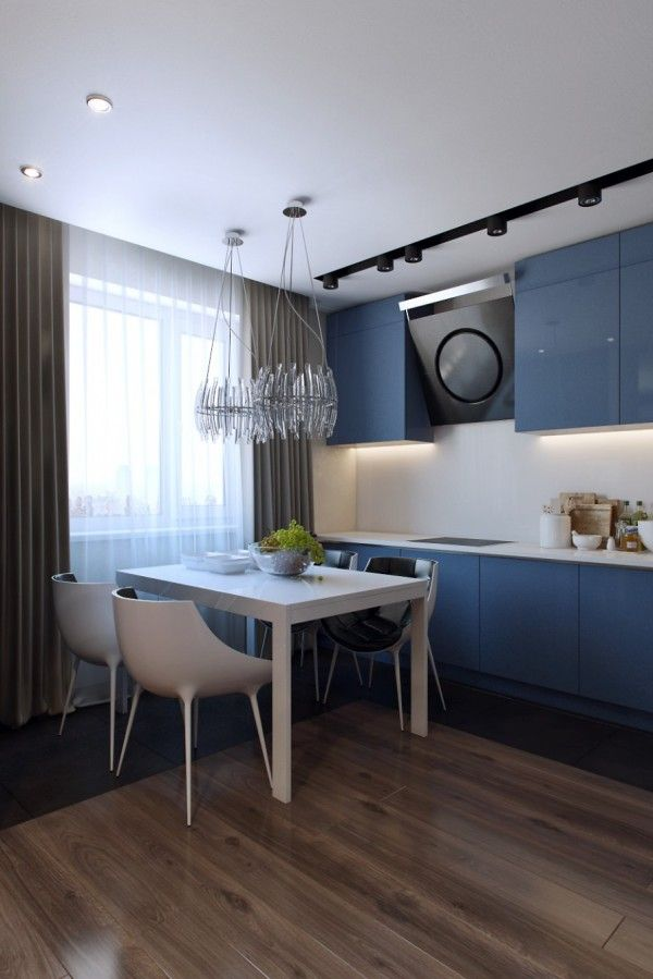 Cutaway Apartment Full Furnitures Modern Design: Open Plan Layouts For Modern Homes