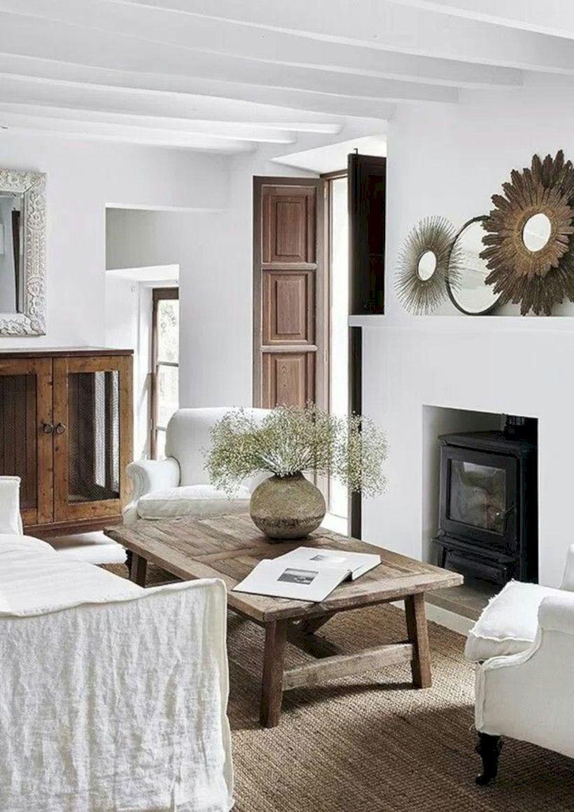 Family Home Interior Design Ideas: 100 Incredible European Farmhouse Living Room Design Ideas