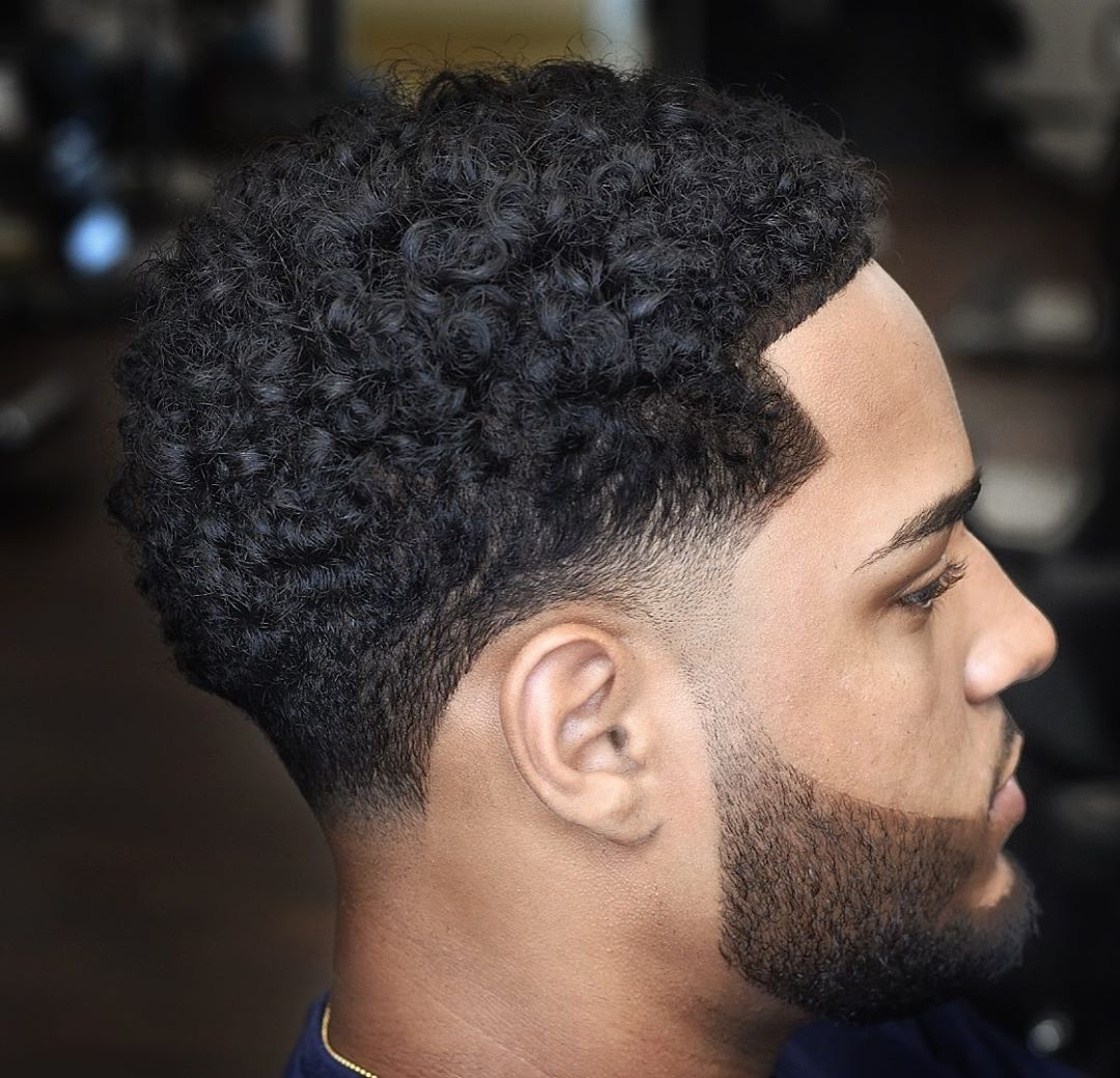19 Fade Haircuts For Cool Curly Hair 2020 Styles In 2020 Curly Taper Fade Taper Fade Haircut Curly Hair Fade