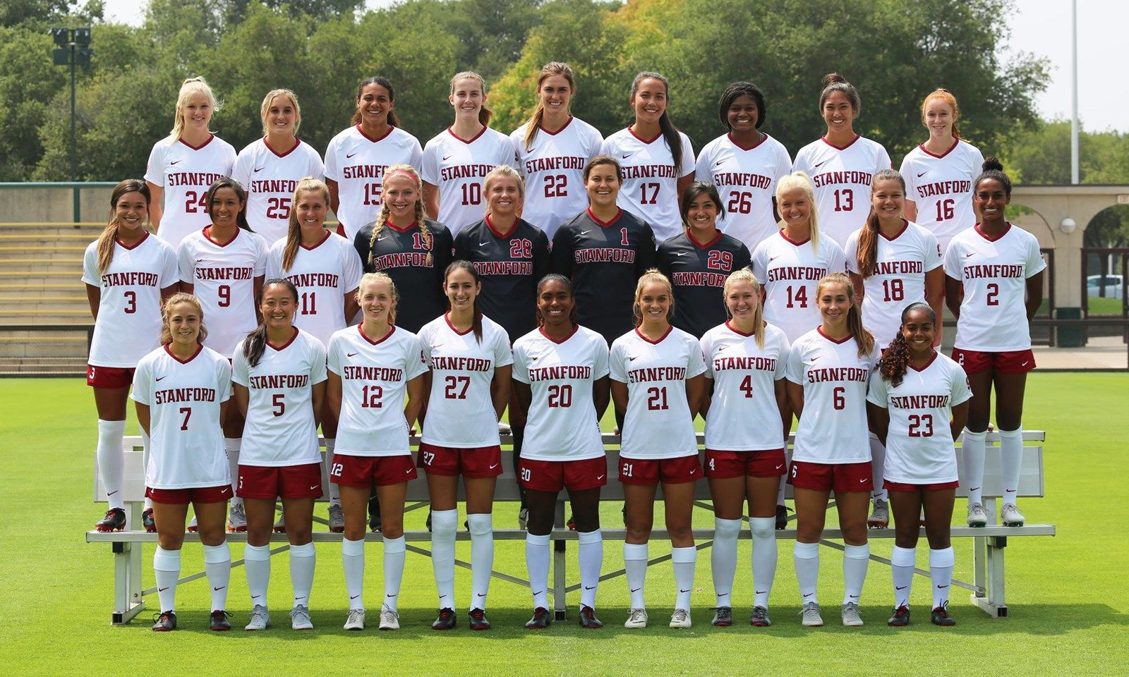 2018 Women S Soccer Roster Stanford University Athletics Womens Soccer Stanford Soccer Soccer