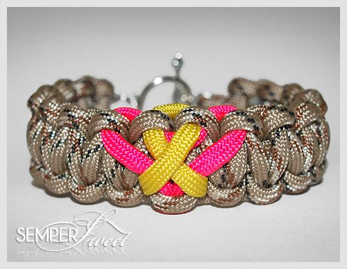 military love & support handmade bracelets