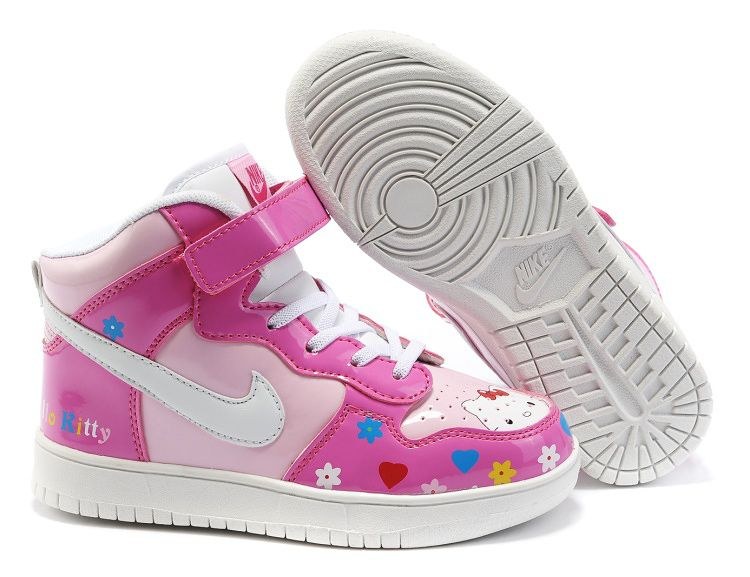 Hello Kitty Nike Shoes For Kids Anime Dunk  766a382ab1