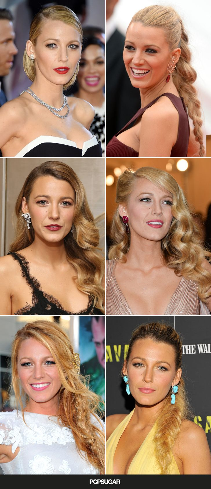 23 Times Blake Lively Proved She Had the Best Hair in