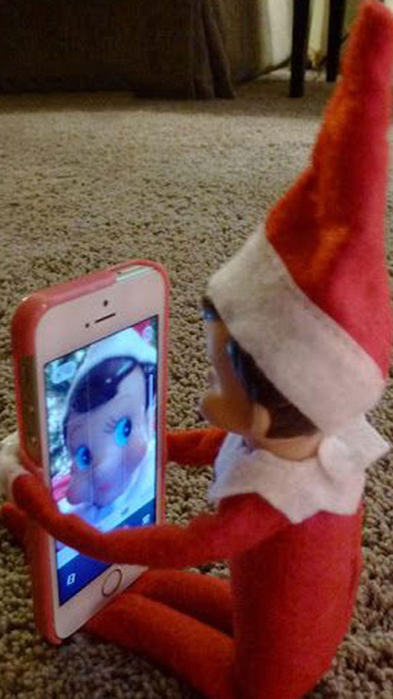 Hilarious Elf on the Shelf ideas that are more naughty than nice - 9Honey #naughtyelfontheshelfideas