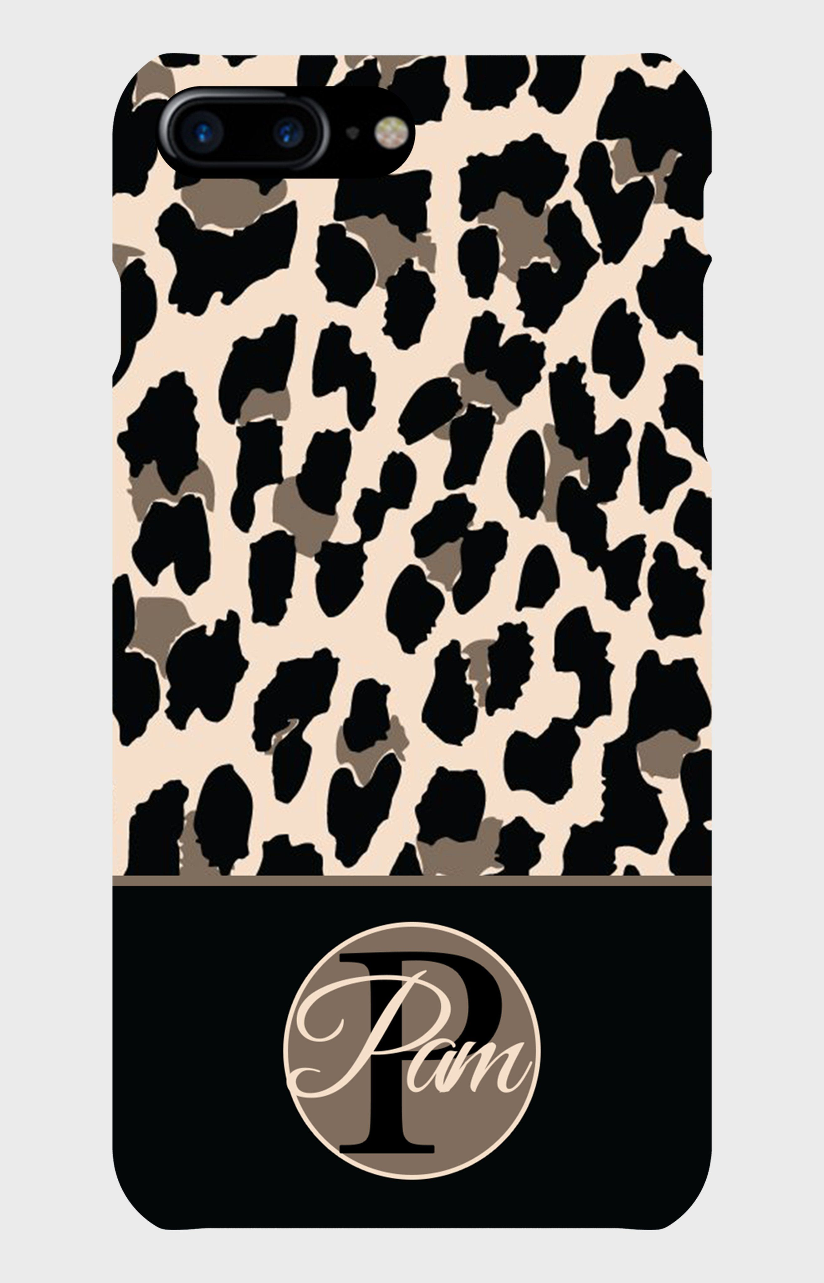 Bedroom Iphone Background Monogram Leopard Design Your Case Is Your Bestaccessory