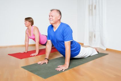 many yoga beginners start their yoga practice at home and