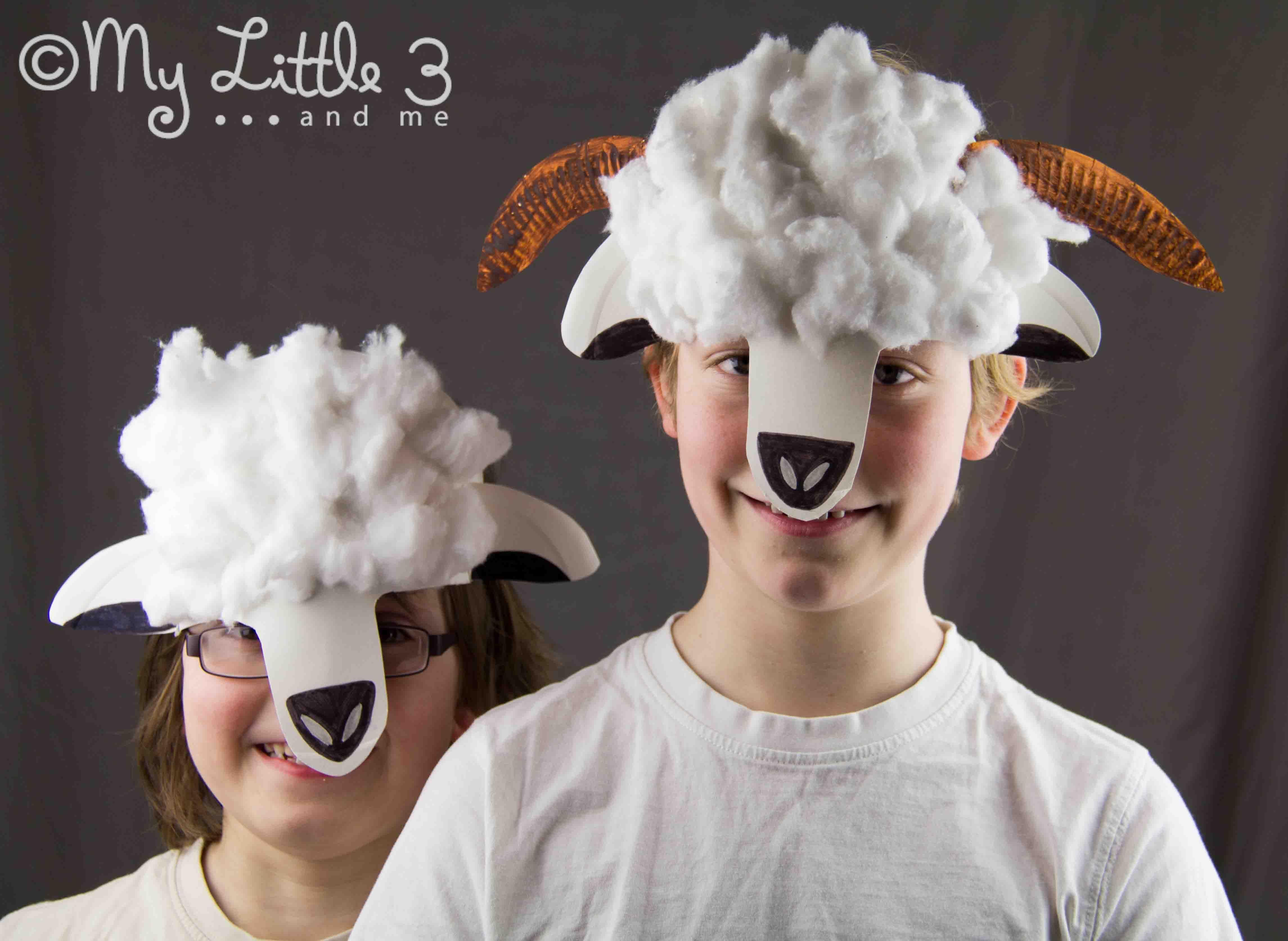 Paper plate lamb and sheep masks sheep mask lambs and masking cute springtime paper plate lamb and sheep masks from emma zangs zangs zangs zangs zangs jeuxipadfo Images