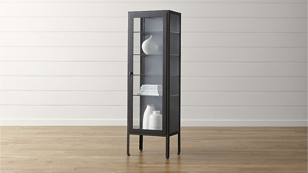 Sterling 70 tall cabinet crate and barrel bath - Crate and barrel bathroom vanities ...