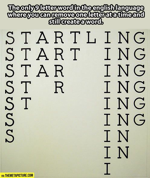 The Most Interesting Word In The English Language Cool Words Words Fun Facts
