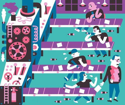factory illustration - Buscar con Google
