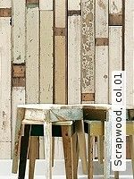 "Piet Hein Eek  - ""Selected"" Designtapeten Scrapwood, 01"