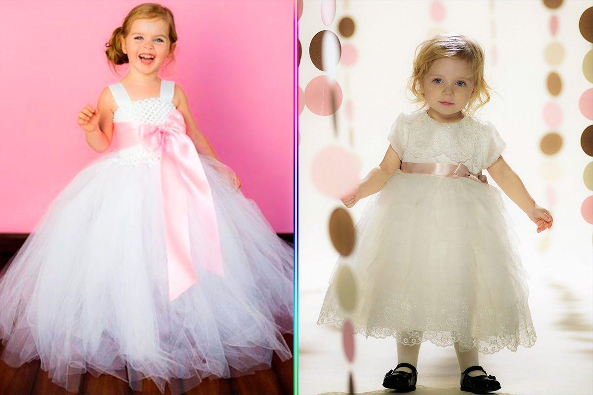 Ideas originales ¡En Fotos! Vestidos de Niñas para una Boda de Gala ...