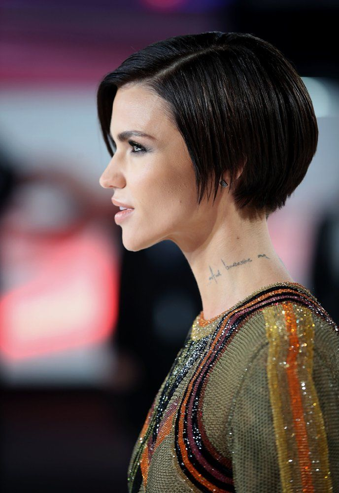 Ruby Rose Photos Including Production Stills Premiere Photos And Other Event Photos Publicity Photos Beh Ruby Rose Hair Ruby Rose Haircut Short Hair Styles