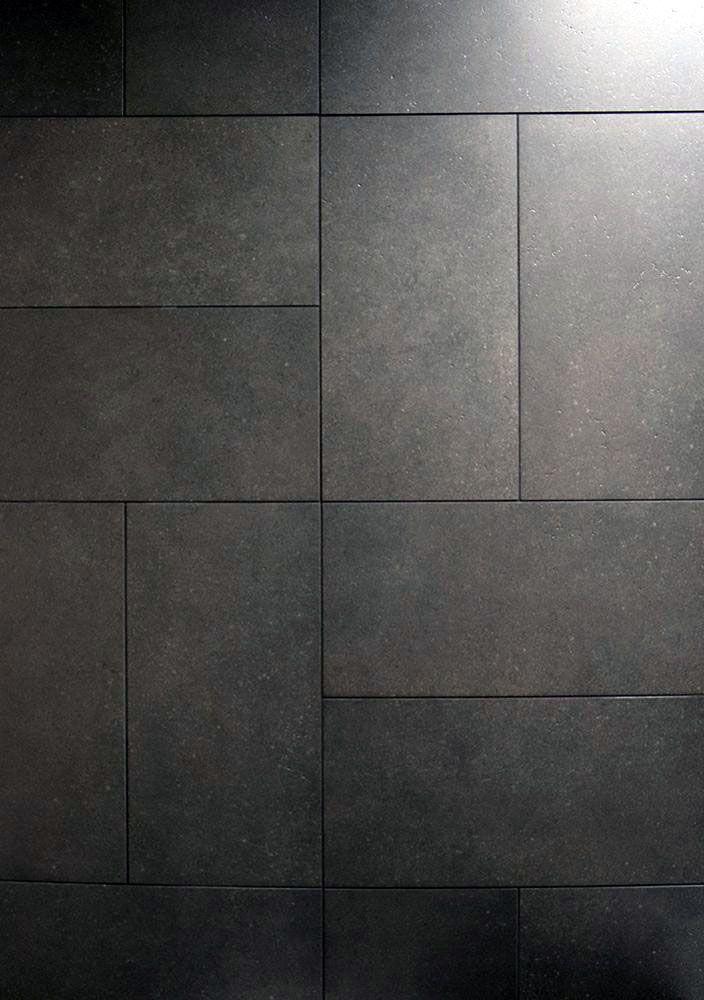15 Bathrooms With Amazing Tile Flooring Grey Floor Tiles