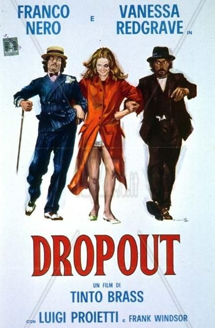 Dropout 1970 Stars Franco Nero Vanessa Redgrave Gigi Proietti