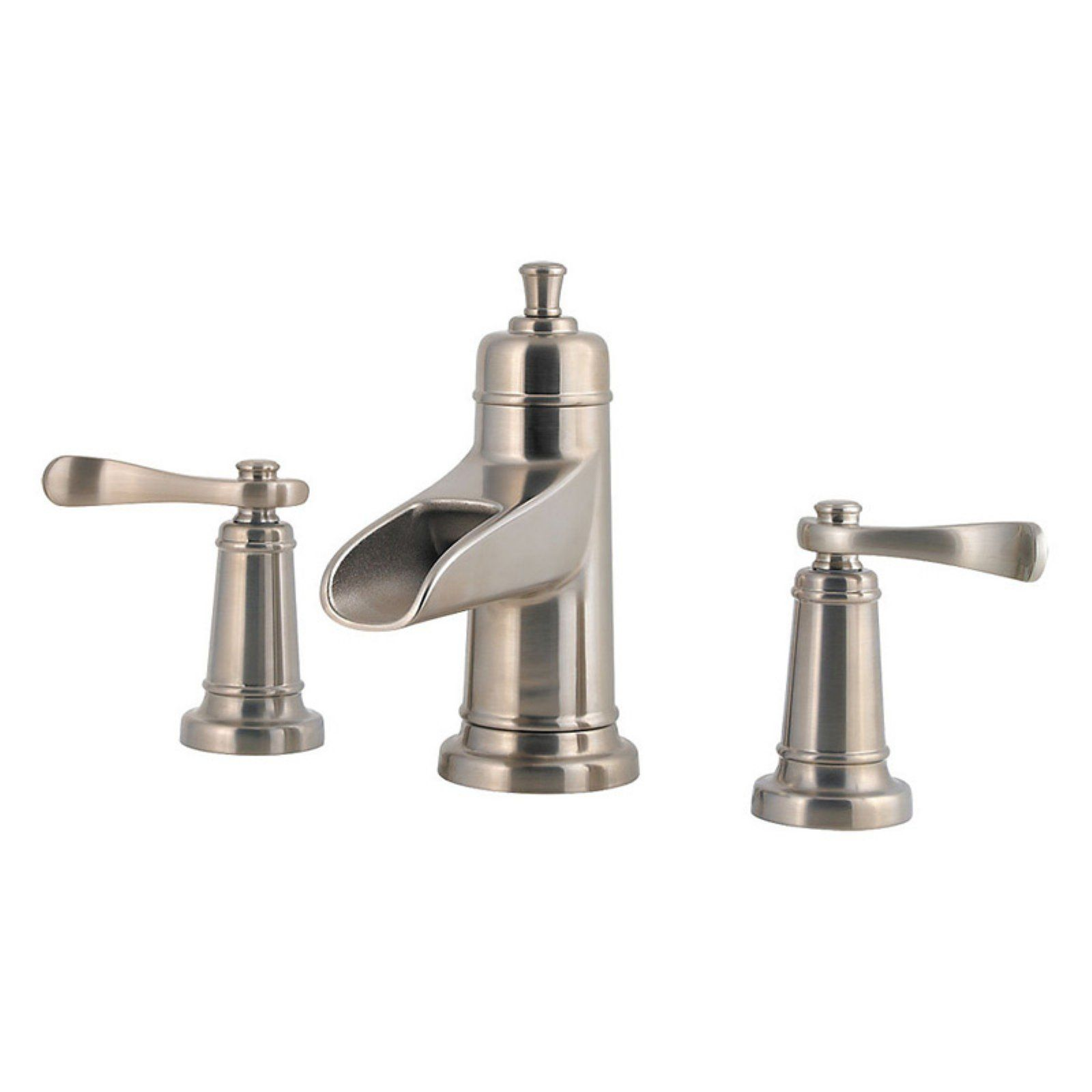 Pfister Ashfield Lf 049 M0bk Double Handle Bathroom Faucet
